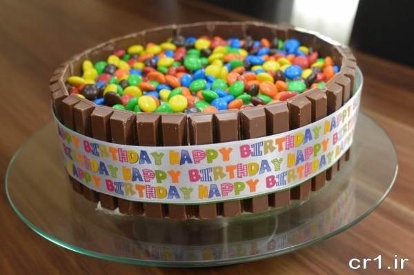 تزیین کیک با درازه