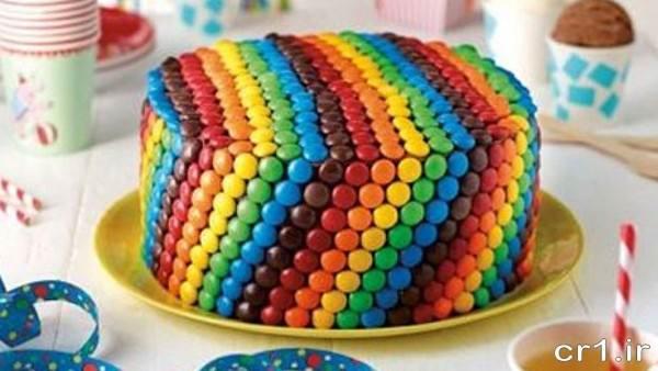 تزیین کیک با دراژه شکلاتی