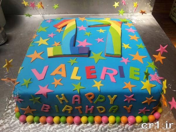 مدل تزیین کیک تولد زیبا و جدید