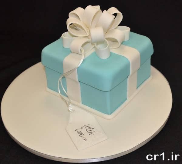 تزیین کیک خانگ با فوندانت