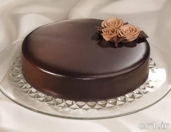 تزیینات کیک با گاناش