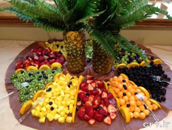 تزیین میوه های زیبا و شیک