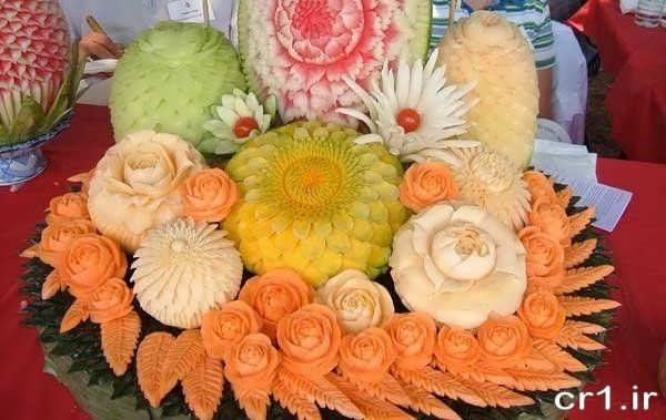 دیزاین میوه روی میز بریا جشن نامزدی