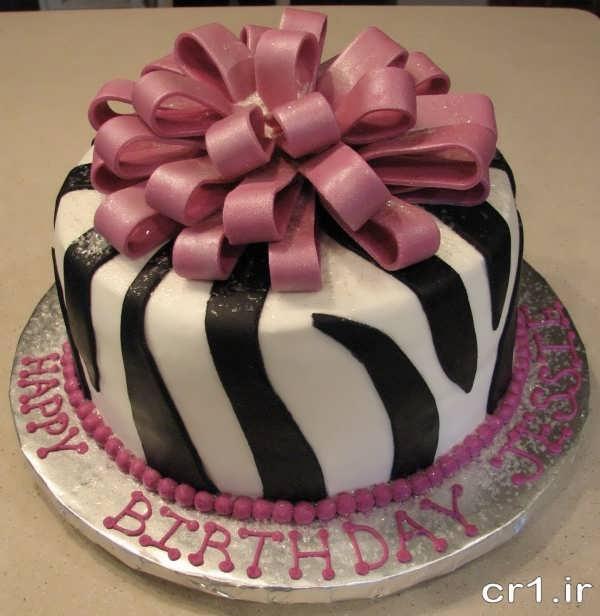 تزیین شیک و زیبای کیک تولد