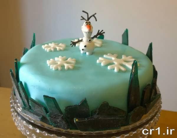تزیین کیک با فوندانت