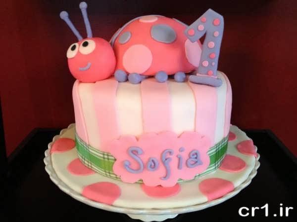 تزیین کیک برای کودکان با فوندانت