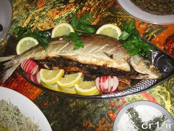 تزیین جدید ماهی شکم پر