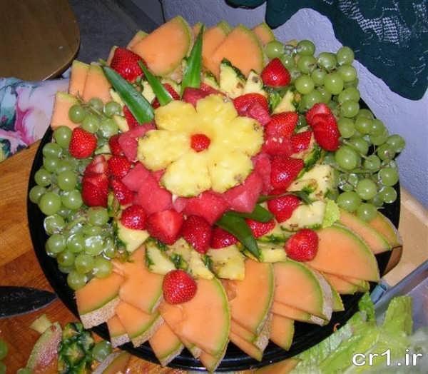 تزیین میوه تابستانی