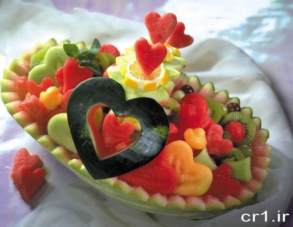 تزیین هندوانه زیبا