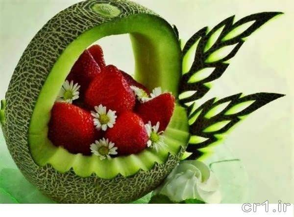 میوه آرایی با طالبی