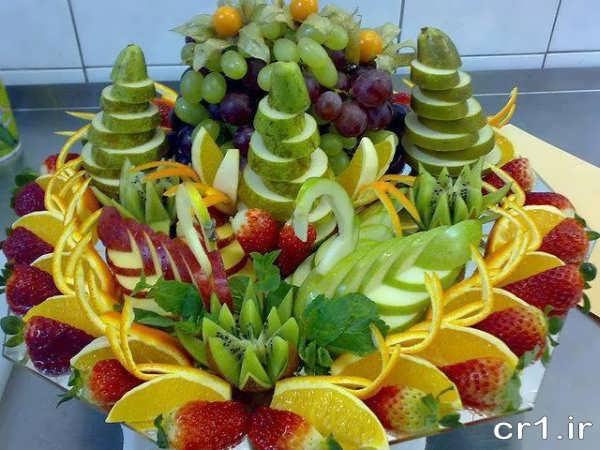 تزیین جدید میوه های تابستانی
