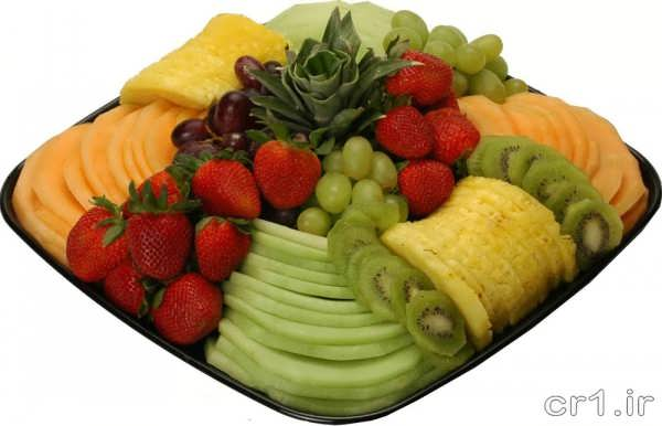 تزیین جدید میوه