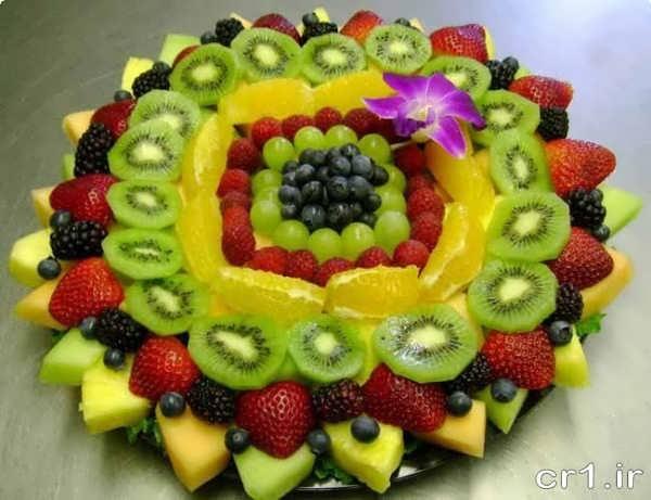 تزیین میوه زیبا وشیک