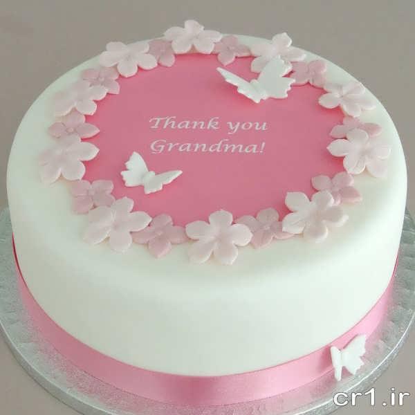 تزیین شیک و زیبای کیک با خمیر فوندانت