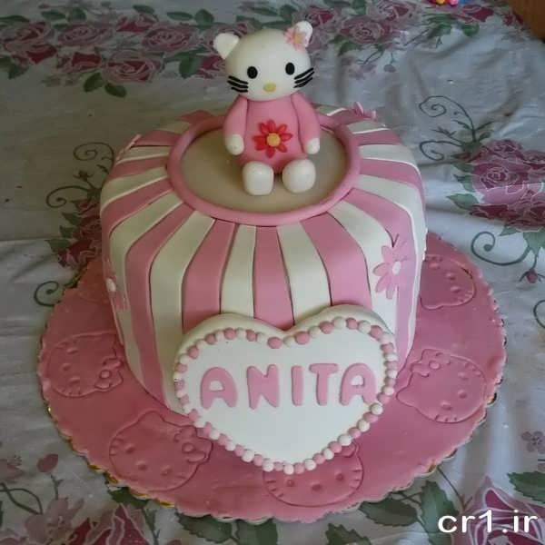 تزیین کیک تولد کودکانه