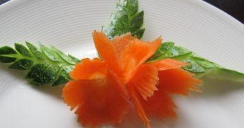 تزیین هویج