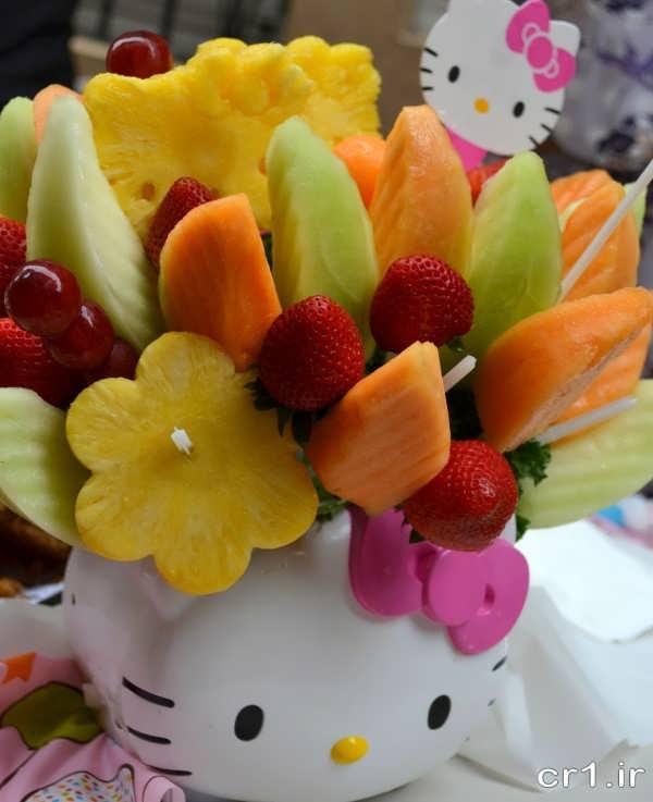 میوه آرایی زیبا و شیک