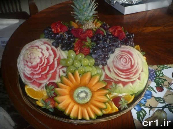 میوه آرایی تولد