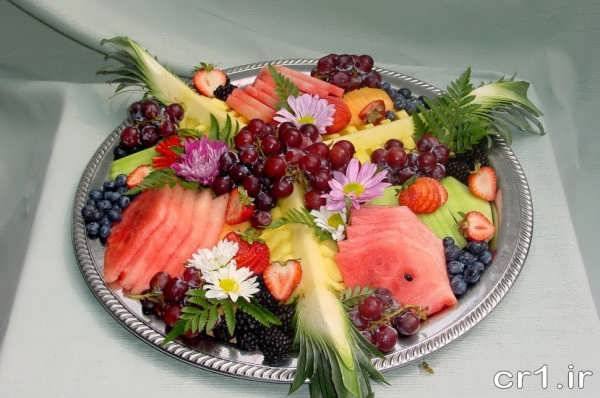 تزیین میوه تولد بزرگسالان