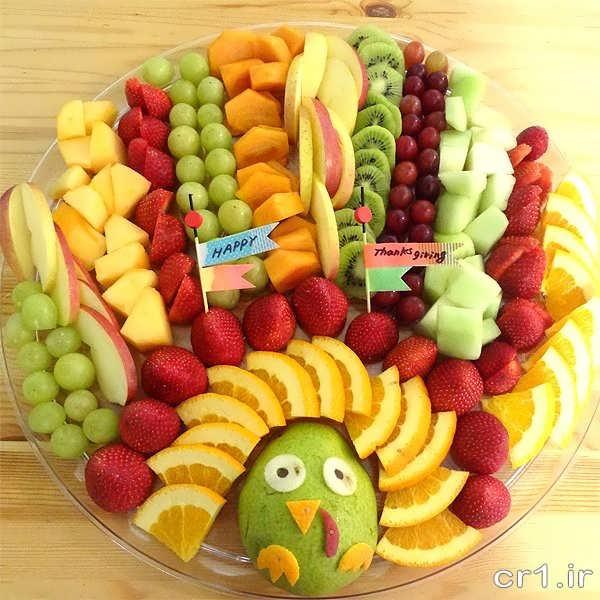 تزیین میوه برای جشن تولد
