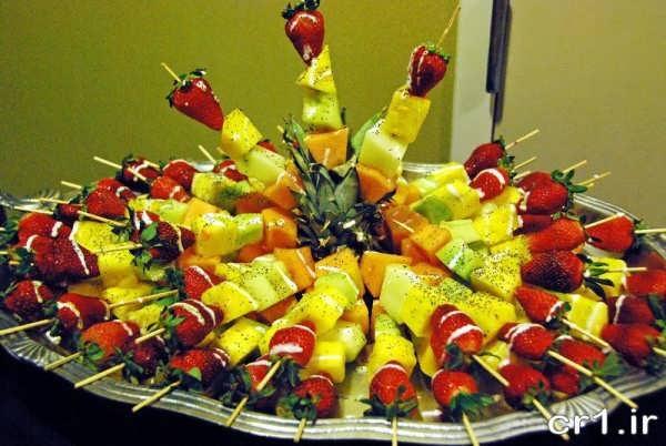 میوه آرایی برای تولد