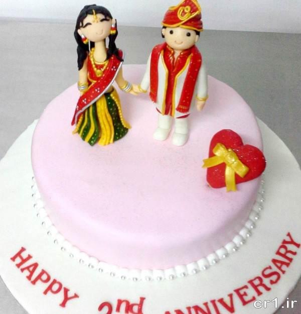 تزیین فانتزی کیک