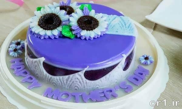 تزیین زیبای کیک تولد با ژله