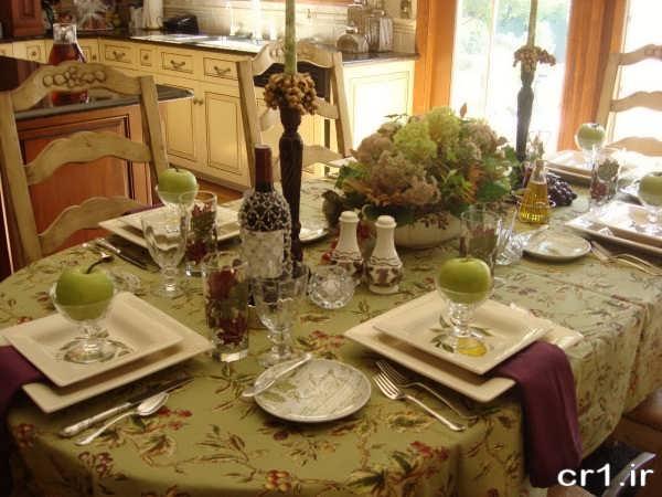 چیدمان میز غذا جدید و شیک