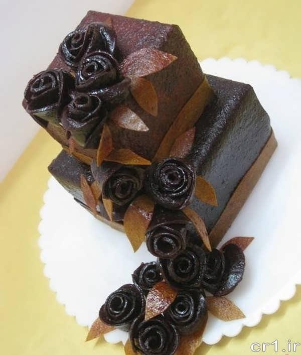 لواشک به شکل کیک تولد