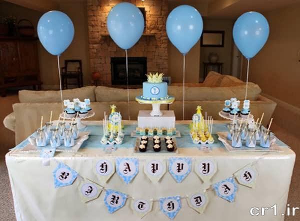 تزیینات جدید میز جشن تولد