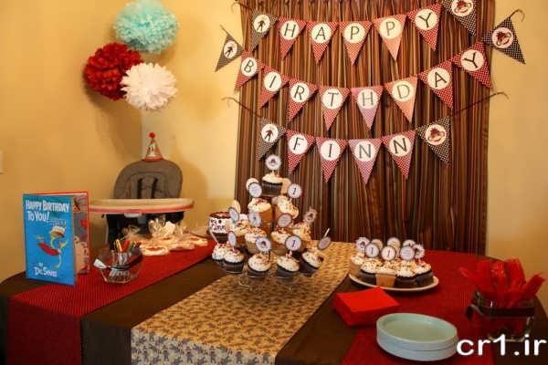تزیینات شیک جشن تولد