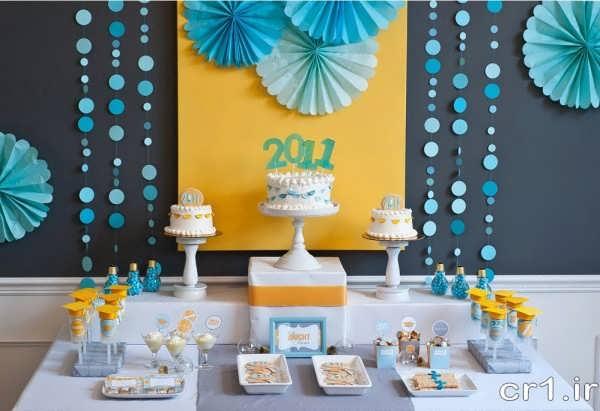 دیزاین میز جشن تولد