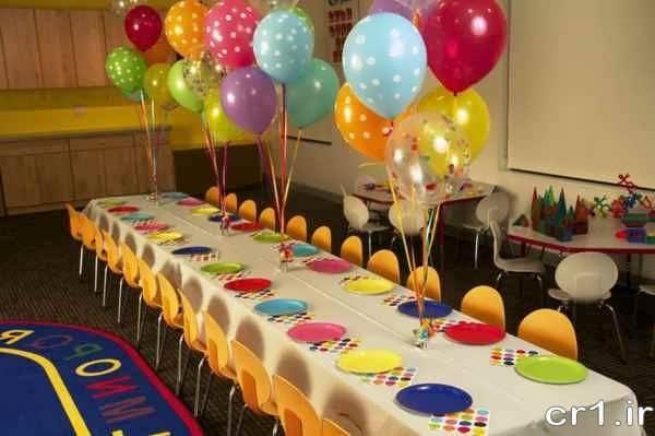 دیزاین میز تولد