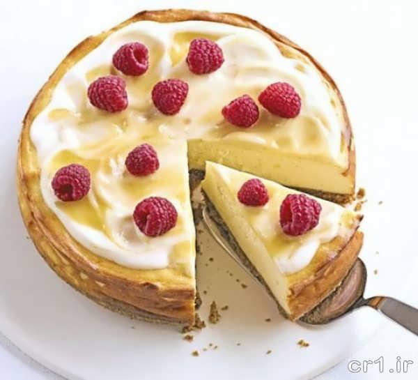 تزیین شیک چیز کیک