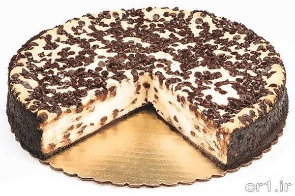 چیز کیک شکلاتی زیبا