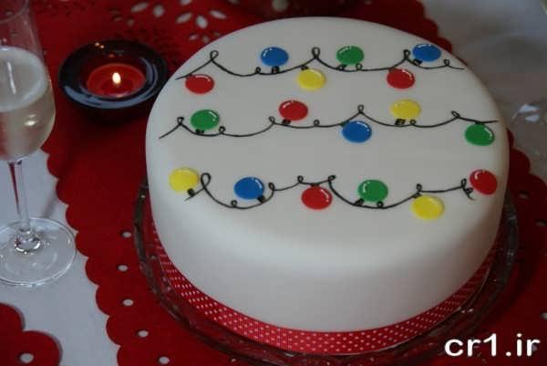 تزیین جدید روی کیک تولد