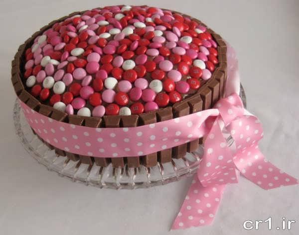 تزیین کیک خانگی زیبا