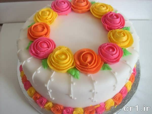تزیین جدید و زیبای روی کیک