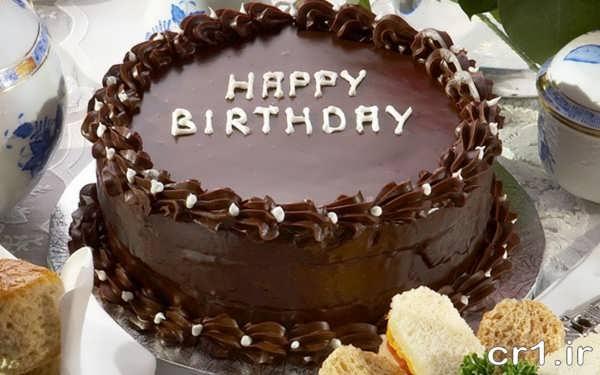 تزیین کیک با شکلات تخته ای