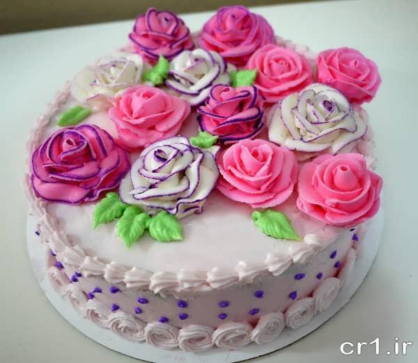تزیین شیک و زیبای کیک