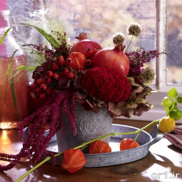 میوه آرایی انار زیبا و جدید