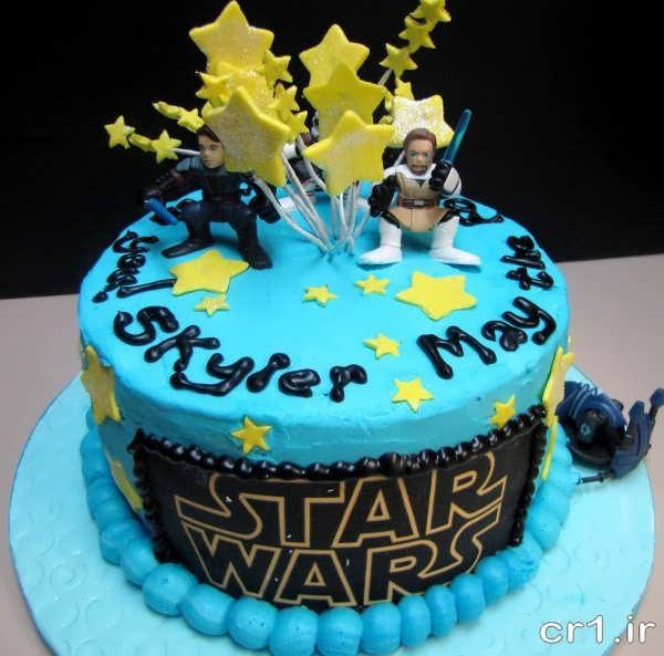عکس کیک تولد پسرانه