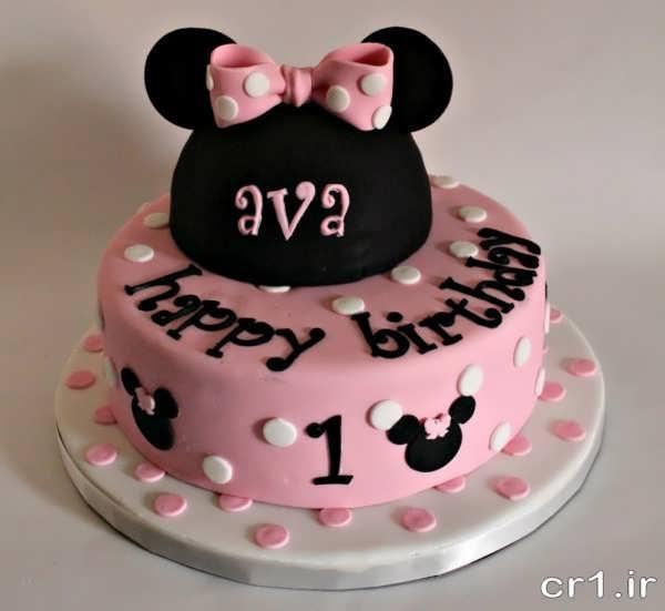تزیین کیک دخترانه