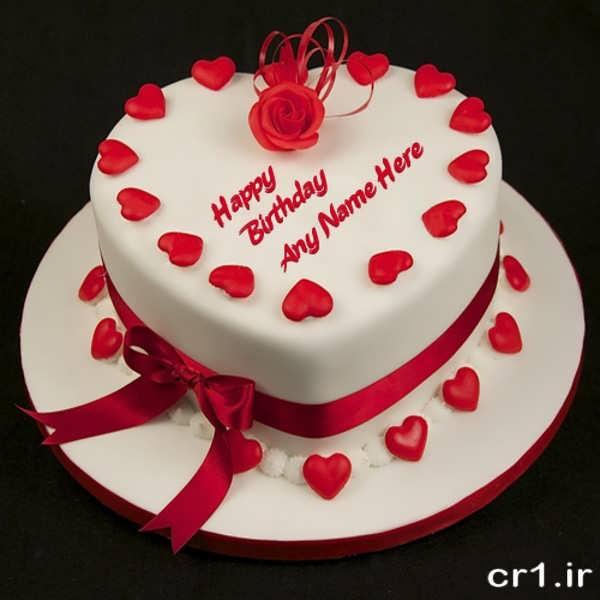 تزیین کیک رمانتیک