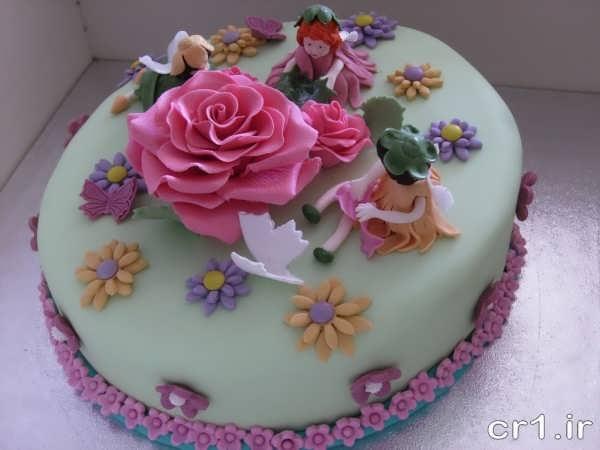 تزیین کیک شیک و زیبا برای تولد