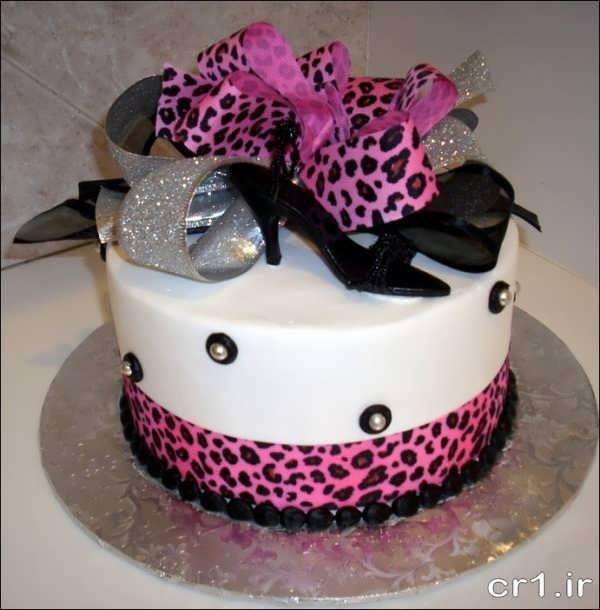 کیک جشن تولد دخترانه