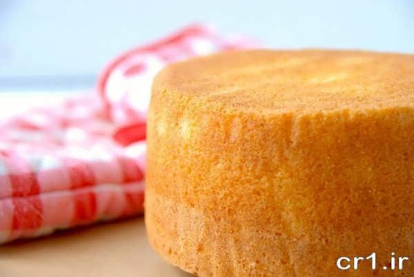 طرز تهیه کیک اسفنجی برای تولد
