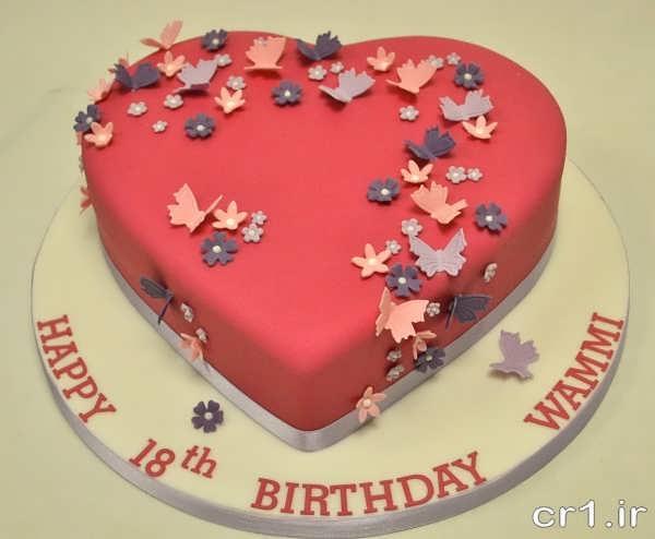 تزیین زیبای کیک جشن تولد