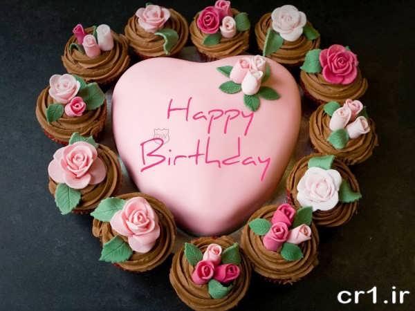 عکس تزیین کیک تولد برای همسر
