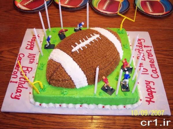 تزیین کیک با تم پسرانه